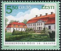 Estonia 2010  Correo Yvert Nº  621 ** Mansión Suremoisa - Estonie