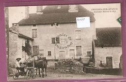 Cpa Fresnes Sur Apance Ancienne Maison De 1671 - édition E Audeberg - Autres Communes