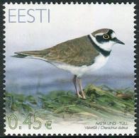 Estonia 2012  Correo Yvert Nº  676 ** Pájaros Del Año. Chorlito - Estonia