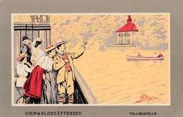 Illustratori - Pellegrini  - Vierwaldstattersee - Tellskafelle  - Molto Bella - Illustratori & Fotografie