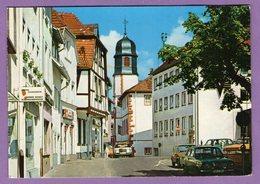Allemagne Alzey Marktplatz Und Blick Auf Rathausturm  - Multi Vues En L Etat - - Alzey