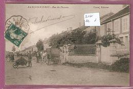 Cpa Ranconnieres Rue Du Dessous - éditeur Gand - France