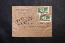 VIETNAM - Enveloppe Commerciale De Saïgon Pour La France En 1952, Affranchissement Plaisant - L 63872 - Viêt-Nam