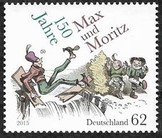 2015Germany3146150 Years To Max And Moritz - Unused Stamps