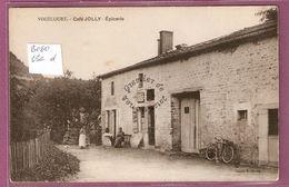 Cp Vouecourt Café Jolly épicerie - Cliché Jendy - Frankrijk