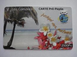 Carte Prépayée Les Comores  ( Utilisée ). - Comores