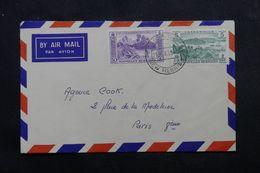 NOUVELLE HÉBRIDES - Enveloppe De Santo Pour La France En 1959 , Affranchissement Plaisant - L 63884 - Brieven En Documenten