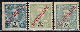 India, 1911, # 204/6, MHNG - Inde Portugaise