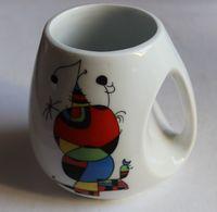Rare Mug Collector Joan MIRO Porcelaine Espagne Colorful Atrwork ,peintre, Sculpteur, Graveur Et Céramiste Catalan - Cups