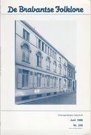 LEUVEN - MERCHTEM - TIENEN - De Brabantse Folklore, Driemaandelijks Tijdschrift, Nr. 258. - Géographie & Histoire