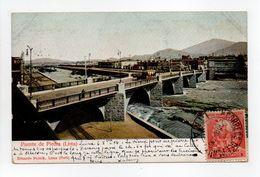 - CPA LIMA (Pérou) - Puente De Piedra 1906 - Editor Eduardo Polack - - Perú