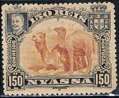 Companhia De Nyassa, 1901, # 37, MH - Nyassa