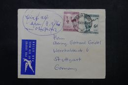 AFRIQUE DU SUD - Enveloppe De Karibib Pour L 'Allemagne En 1960, Affranchissement Plaisant - L 63893 - Storia Postale