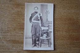 Cdv  Second Empire Le Lancier  Avec Sa Schapska - Guerra, Militares