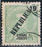 S. Tomé, 1913, # 139, Used - St. Thomas & Prince