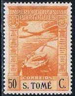 S. Tomé, 1938, # 3, Correio Aéreo, MH - St. Thomas & Prince