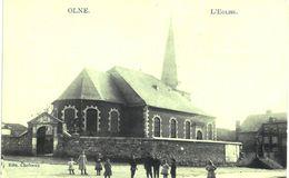 OLNE  L' église - Olne