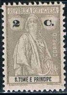 S. Tomé, 1926, # 268 Dent. 12x11 1/2, MH - St. Thomas & Prince