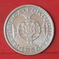 MOZAMBIQUE 20 ESCUDOS 1955 - ***SILVER***   KM# 80 - (Nº36353) - Mozambique
