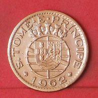 SAINT THOMAS E PRINCIPE 1 ESCUDO 1962 -    KM# 18 - (Nº36355) - São Tomé Und Príncipe