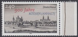 2015Germany3139900 Years Of The City Of Kothen5,50 € - Unused Stamps
