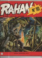 RAHAN T 10 Le Clan Sauvage La Foret Des Haches EO BE VAILLANT 07/1974 Lecureux Cheret (BI4) - Rahan