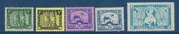 "Indochine YT 214 à 218 "" Série Complète "" 1941 Neuf* - Unused Stamps"