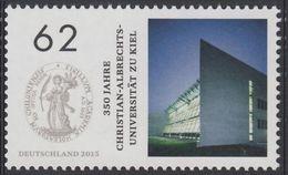2015Germany3138Christian Albrecht University, Kiel - Unused Stamps