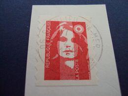 """1989-96 MARIANNE BICENTENAIRE - Adhésif - Oblitéré N°   2874 """" Sv Rouge""""  Net 0.30  """" Beaulieu S:mer""""  Photo 1 - 1989-96 Bicentenial Marianne"""