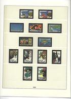 Feuilles Lindner France De 1992 à 1996 (N° 158 à 185 ) - Albums & Binders