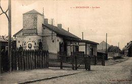 ESCAUDAIN La Gare 1915 - Denain