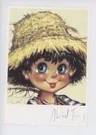 Michel Thomas -  Portrait De Gamins N°117 - Gamin Enfant Chapeau De Paille - Thomas