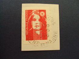 """1989-96 MARIANNE BICENTENAIRE - Adhésif - Oblitéré N°   2874 """" Sv Rouge""""  Net 0.30  """"   Nemours  """"  Photo   2 - 1989-96 Bicentenial Marianne"""