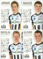 Cyclisme , Serie TEAM COLOQUICK 2020 Complete - Cycling
