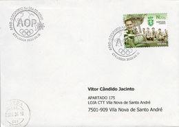 COVID - PORTUGAL - Sport In The COVID Era - Commemorative Postmark (cover Real Circulated) - Timbres