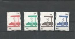 Sp 455 ==> 458 ** Postfris Zonder Scharnier - Bahnwesen