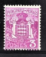 MONACO 1924 / 33  - Y.T. N° 74A - NEUF ** /3 - Nuovi