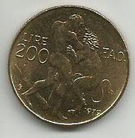 San Marino 200 Lire 1979. UNC FAO - Saint-Marin