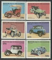 Guinea 1998 Mi 1797-1802 MNH ( ZS5 GUR1797-1802 ) - Voitures