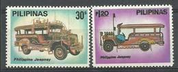 Philippines 1980 Mi 1359-1360 MNH ( ZS8 PLP1359-1360 ) - Voitures