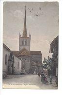 25538 - Payerne Eglise Abbatiale + Cachet Ambulant Yverdon-Fribourg - VD Vaud