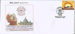 Acharya C Bhaktivedānta Swami Indian Spiritual Leader International Society For Krishna Consciousness (ISKCON),Spl Cover - Hinduism