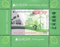 Montenegro 2016, Europa, Think Green, ** - 2016