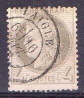 FRANCE ( POSTE ) S&M  N°  52  TIMBRE  TRES  BIEN  OBLITERE  , A  SAISIR . R 7 - 1871-1875 Cérès