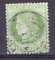 FRANCE ( POSTE ) S&M  N°  53  TIMBRE  TRES  BIEN  OBLITERE  , A  SAISIR . R 7 - 1871-1875 Cérès