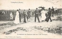 21 Calmpthout Kalmthout Heide Hotel 't Hof Van Heide De Aankomst Der Engelsche Club Hoelen 891 - Kalmthout