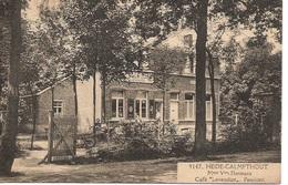 24 Calmpthout Kalmthout Heide Cafe Levenslust. Mme Vve Hermans  Pensioen. Hoelen 9147 - Kalmthout