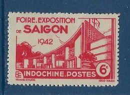 """Indochine YT 231 """" Foire De Saïgon """" 1942 Neuf** - Ungebraucht"""