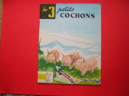 LES TROIS PETITS COCHONS  CONTES DU GAI PIERROT N° 41  EDITIONS BIAS PARIS 1974  ILLUSTRATIONS DE JEAN DUPIN - Bücher, Zeitschriften, Comics