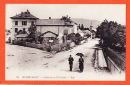 FRI081 ( Etat Parfait ) REMIREMONT 88-Vosges Octroi Café-Billard Faubourg Du Val D' AJOL Villageois 1910s -LEVY 74 - Remiremont